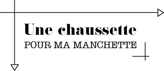 chaussette-manchette